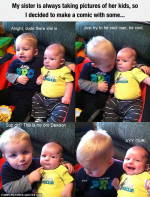 Quotes About Baby Brothers Baby Brothers Comic