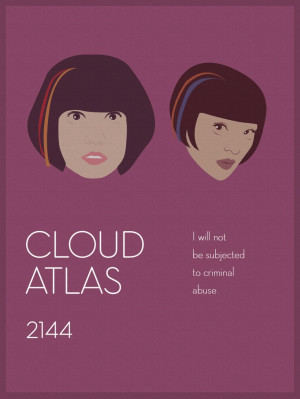 ... 2144. Sonmi-451 (Doona Bae) and Yoona-939 (Xun Zhou).: Cloud Atlas 3