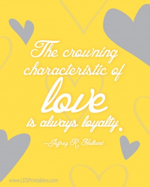 love is loyalty 01 Loyalty Love Quotes