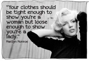 Fashion Quote of the Week: Marilyn Monroe #2