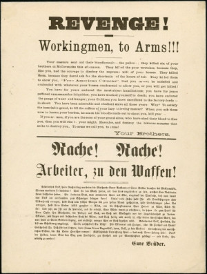 Circulation used to excite a workers revolution.