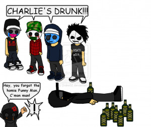 Charlie Scene's Drunk :WIP: by Drake02