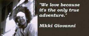 Nikki giovanni famous quotes 1