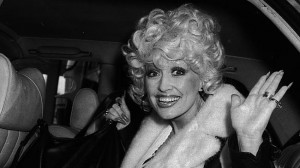 Dolly Parton in Melbourne in 1979. Source: Supplied