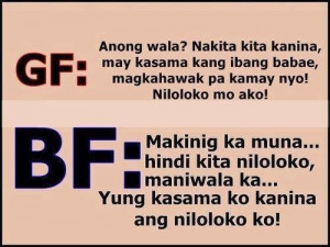 Love Text Quotes | Tagalog Banat Quotes |.