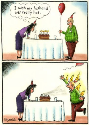 Funny Comic Strips 1 - Husband and Wife