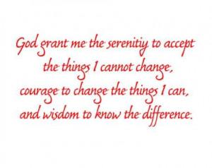 Serenity*Courage*Wisdom