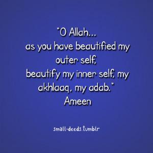 Beautify my inner self