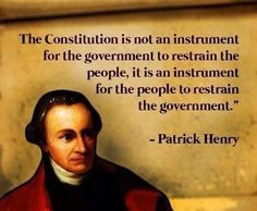 Patrick Henry Christian Quotes
