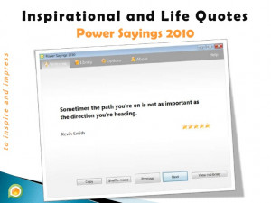 Inspirational Quotes and Life Proverbs - Power Sayings 2010