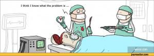 ... comics,funny comics & strips, cartoons,WUMO,surgery,patient,brain
