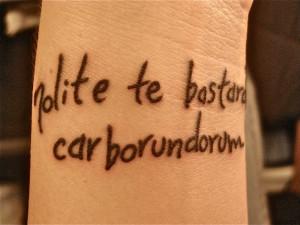 The Handmaid's Tale Margaret Atwood tattoo