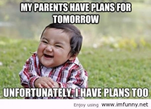 Evil toddler strikes again / Funny Pictures, Funny Quotes – Photos ...
