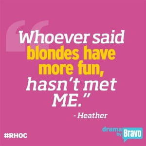 Um perfect? I think so!  I so agree with Heather!