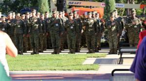Topeka High Marine JROTC Remembers 9-11