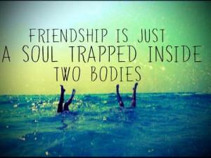 friend sayings @Darby Tharp :)