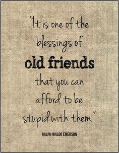 Old Friend Birthday Quotes