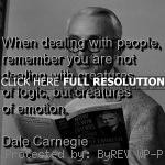 dale carnegie, quotes, sayings, management, people, emotion dale ...
