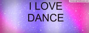LOVE DANCE Profile Facebook Covers