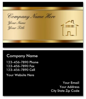 25 Amazing Real Estate Business Card Designs For Inspiration