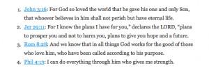 Popular Bible Verses 01