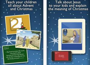 Christmas Advent Calendar 2013 app teaches Bible quotes