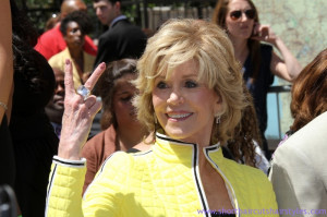Jane Fonda Short Flippy Hairstyle Wallpaper picture