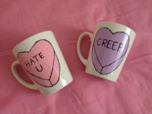 ... mug tumblr grunge hipster indie tea heart quote on it cute coffee
