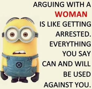 Minion Quotes on Women (4 Photos)