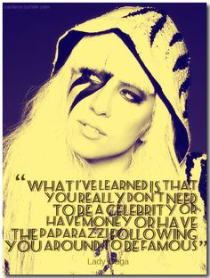 Lady Gaga Tumblr Quotes Quote by lady gaga. pinned from. zardeve ...