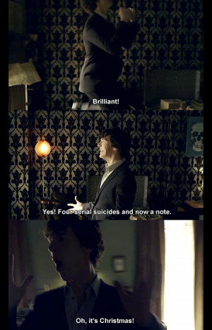 Tags: sherlock quotes