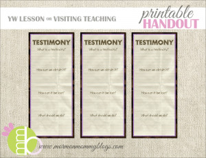 Lds Free Printable Clipart Picture