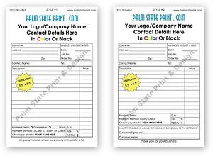 ... -Carbonless-NCR-Invoice-Sales-Receipt-Estimate-Quote-Pad-Book-Set