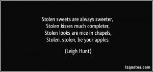 More Leigh Hunt Quotes