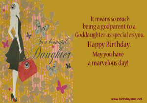 These are the happy birthday quotes for goddaughter Pictures