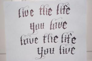Bob Marley Quote Tattoo Designs