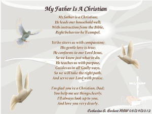 My Father Is A Christian Poem Raw Digital Art