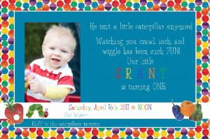 cute sayings 1st birthday invitations