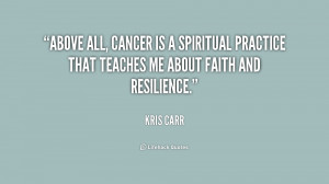 Kris Carr Cancer Quote