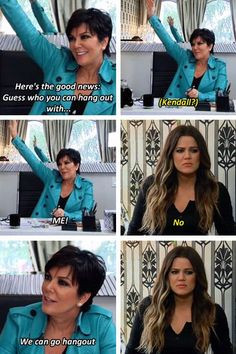 Keeping Up with the Kardashians Kris Jenner and Khloe Kardashian More