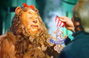 Cowardly Lion Wizard Of Oz Scared
