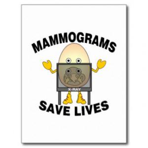 Mammogram Postcards