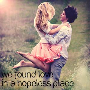 Rihanna - We Found Love (Quote) by LeonardoMatheus