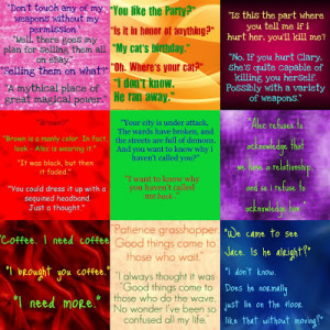 mortal instruments quotes