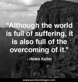 Inspirational quotes helen keller