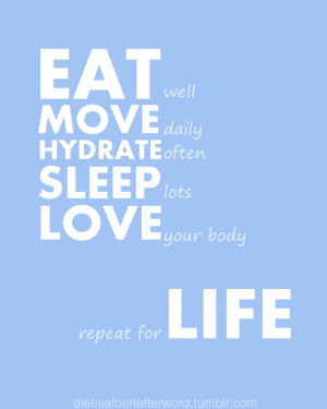 life healthy quotes | Words to live and love by | Pinterest