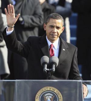 President Obama's Inaugural Speech.
