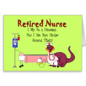Nurse Retirement Cards & More