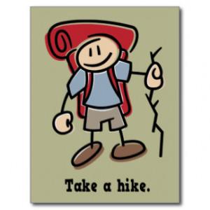 Take a Hike Postcards
