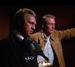 In 1974 Steve McQueen stared in a movie with an all-star cast named ...